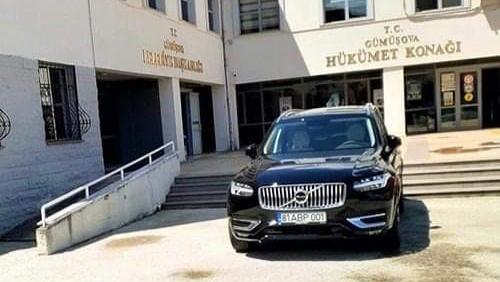 MHP Gümüşova Teşkilatı'ndan Volvo araç açıklaması