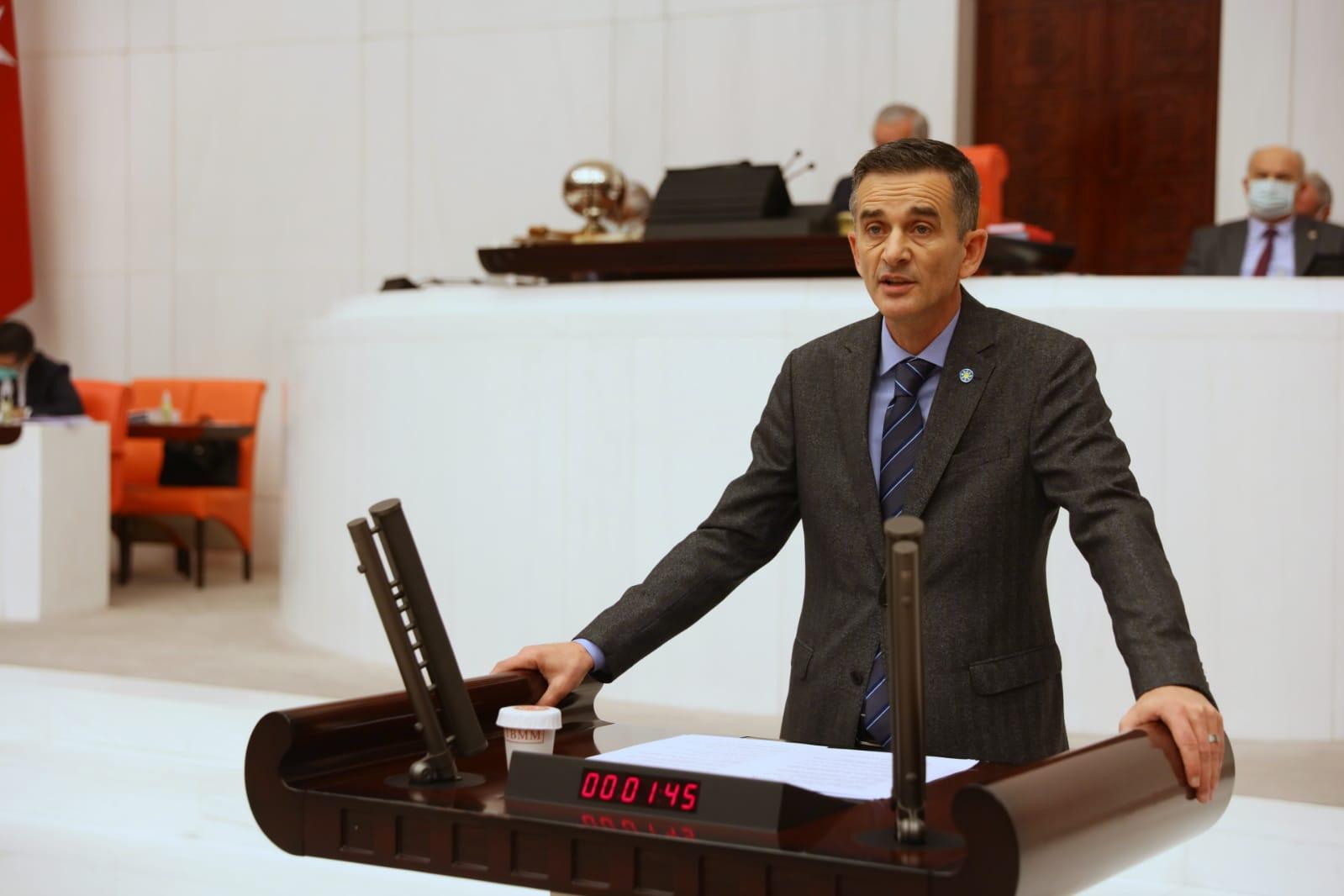 Dikbayır'ın hazırladığı soru önergesi meclise sunuldu