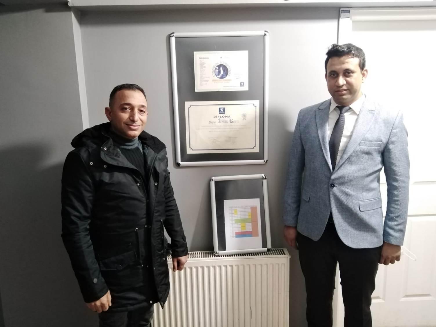 Başkan Demir'den 'Elektronik Profösörü' İhsan Boya'ya ziyaret