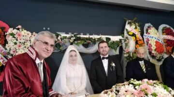 Siyaset, spor, medya, iş, askeri, stk camiası bu düğünde buluştu