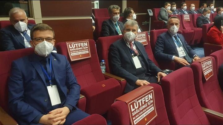 Ankara'da il başkanları toplantısına katıldılar