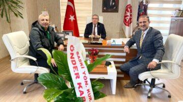 Önder KARAN'dan ASKF'ye tebrik ziyareti