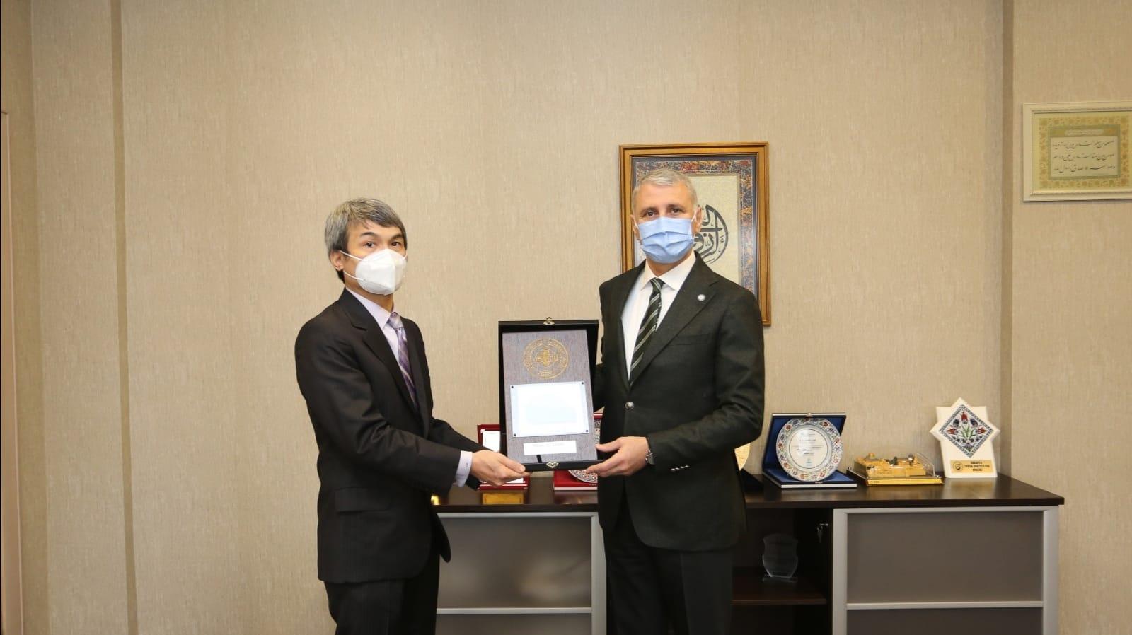 Filipinler İstanbul Başkonsolosu'ndan SATSO'ya Ziyaret