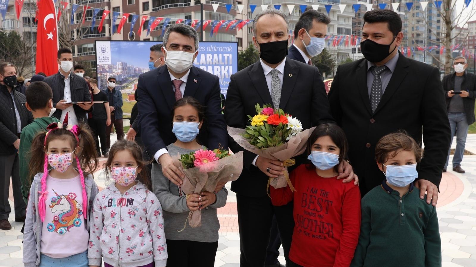 Bursa Büyükşehir; 'Yeşil'de kararlı
