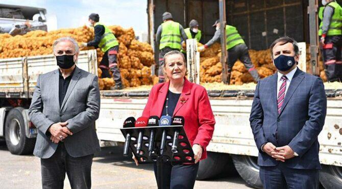 """DP'li ERGÜL: """"Bunlar patatesi siyasi şova döndürdü"""""""