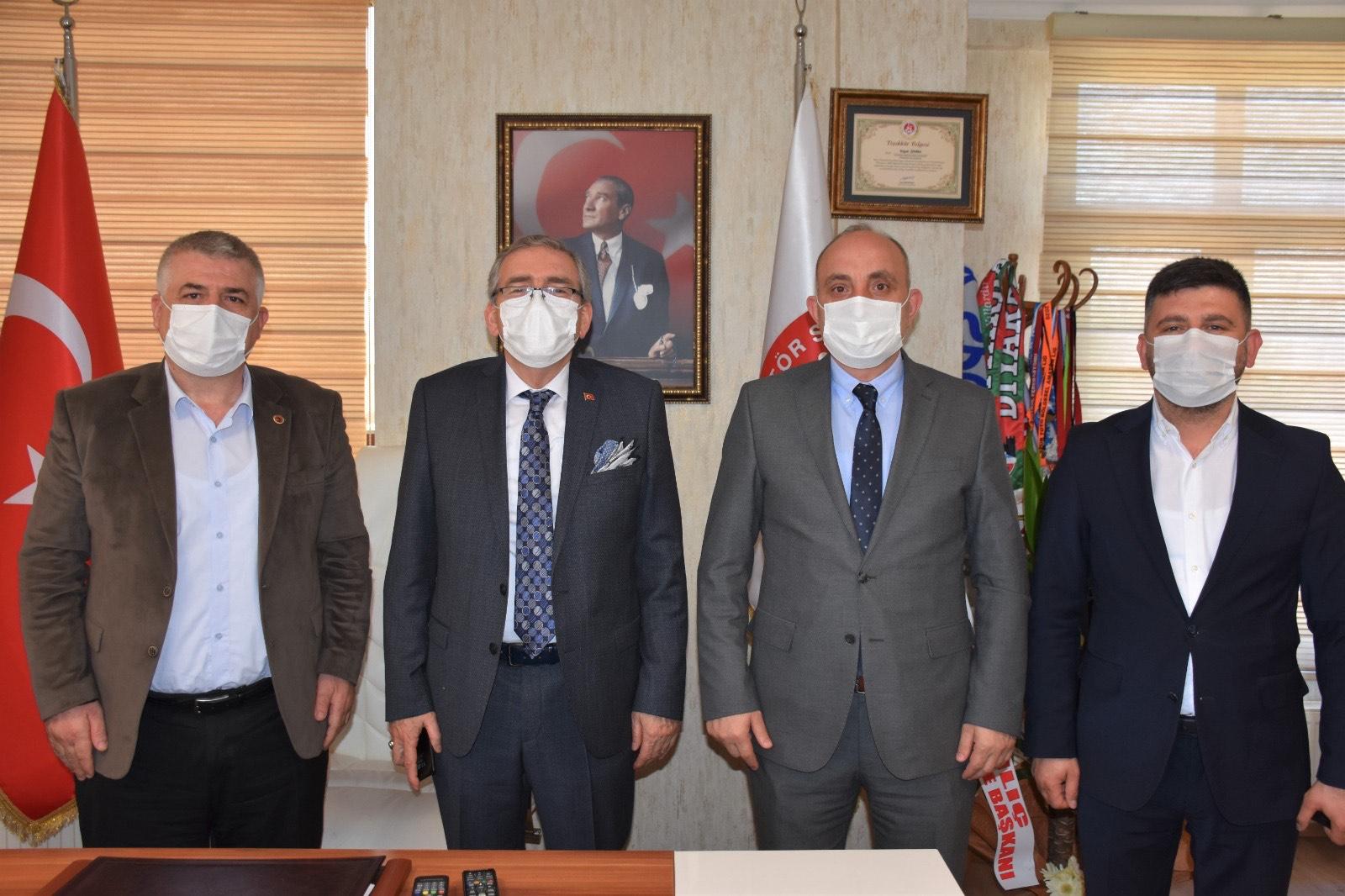 Başkan Fevzi KILIÇ'tan; ASKF'ye ziyaret