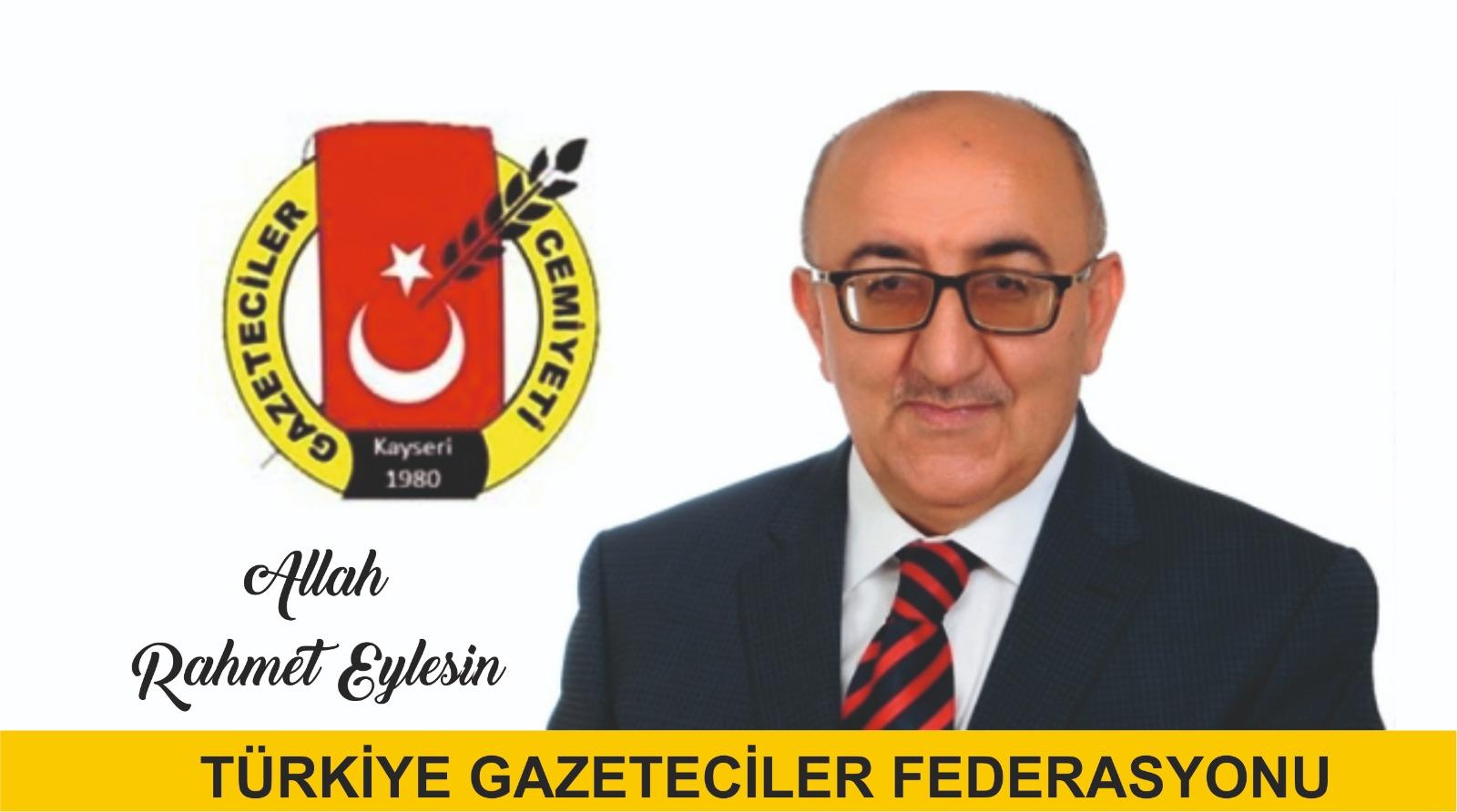 """TGF: """"Duayen Veli Altınkaya'yı kaybettik"""""""