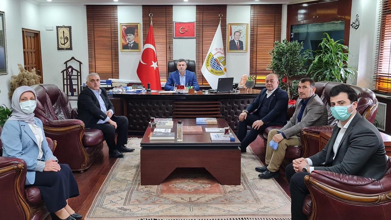 Ali İnci'den Başkan Özen'e ziyaret