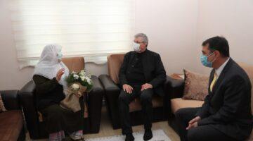 Başkan YÜCE'den Anneler Gününde anlamlı ziyaret