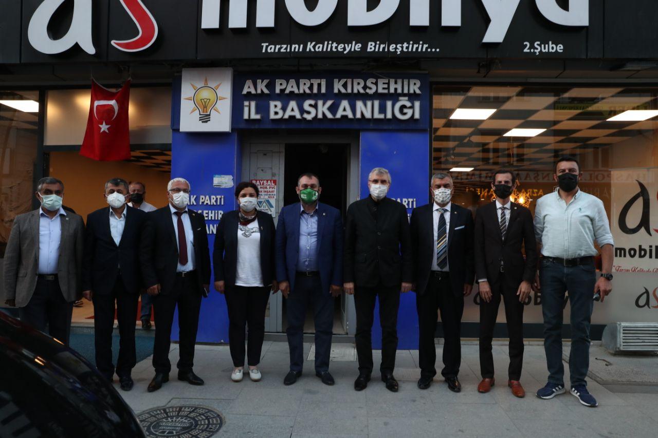 Başkan Yüce Kırşehir'de AK Parti İl teşkilatını ziyaret etti