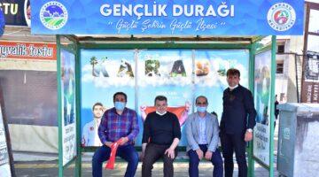 """""""Karasu'da 'Gençlik Durağı' Açıldı"""""""