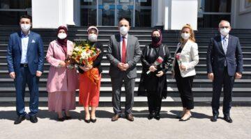 Başkan Fevzi KILIÇ'tan Anneler Günü ziyaretleri