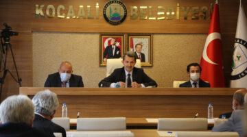 Kocaali Belediye Meclisinden Filistin'e destek