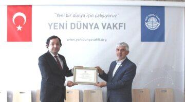 Başarılı işadamı Şahin Karaaslan; YDV Başkanı oldu