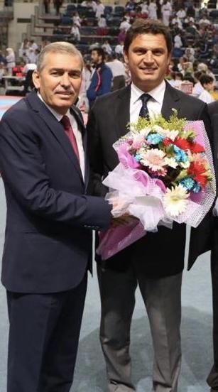 ASKF Başkanı Zımba; Dünya Hakemi Kobaş'ı kutladı