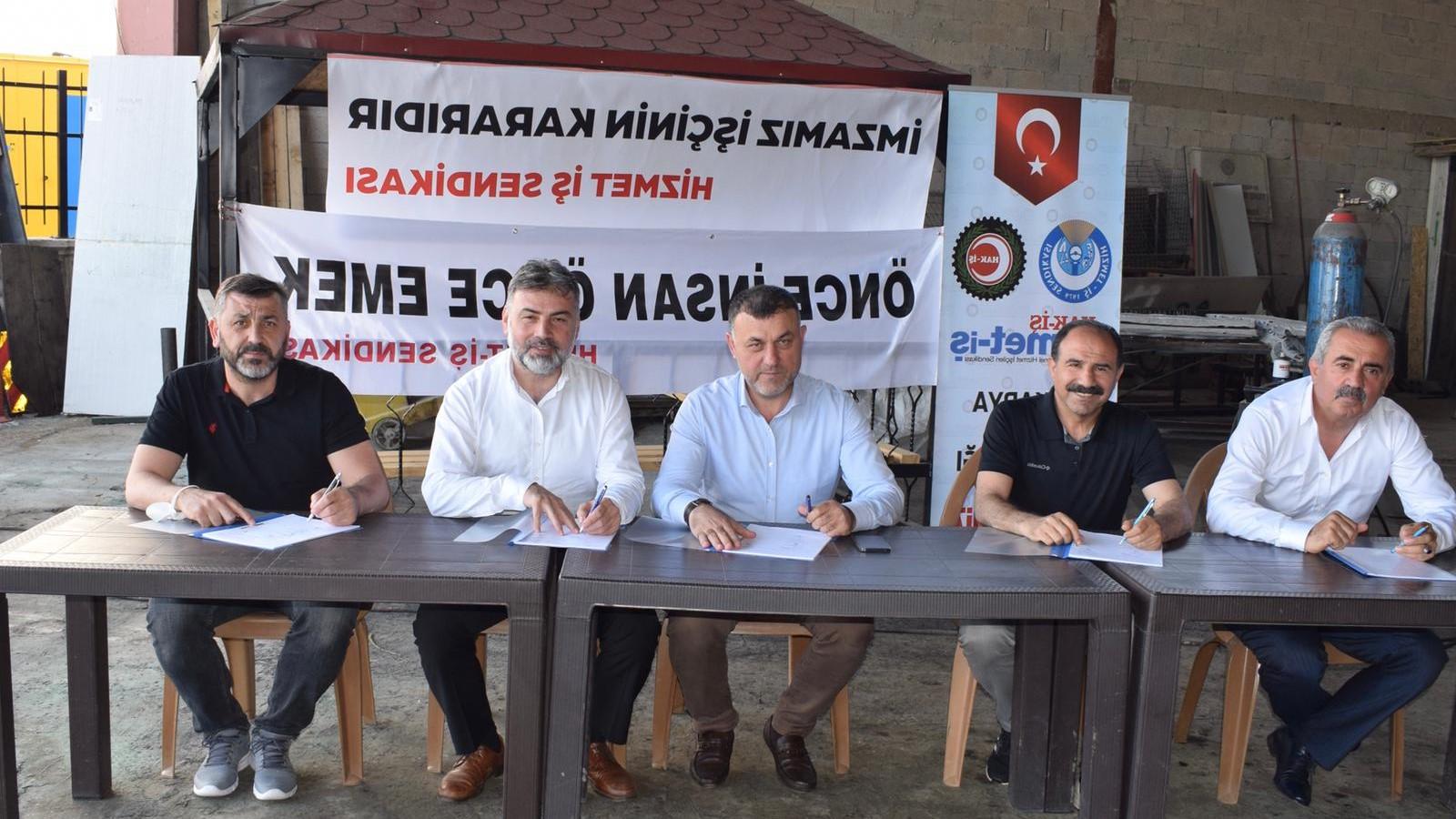 Düzce Çilimtaş'da Toplu İş Sözleşmesi sevinci