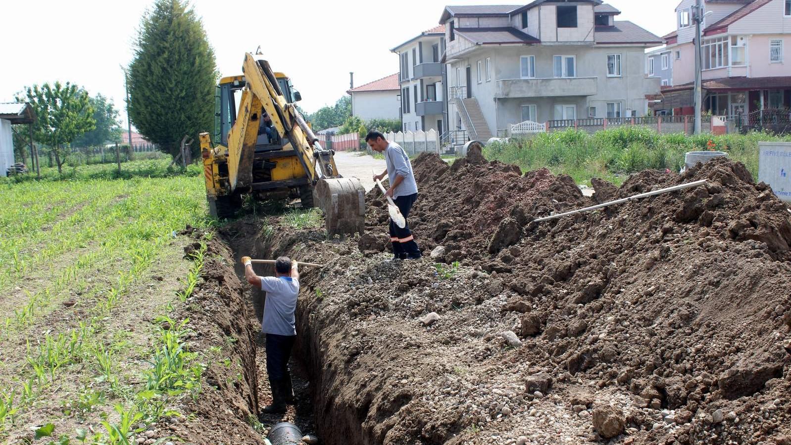 Arifbey'in alt yapısı yenileniyor