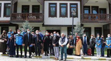 108 aile sağlık için Taraklı Termal Otel kaplıcalarındaydı