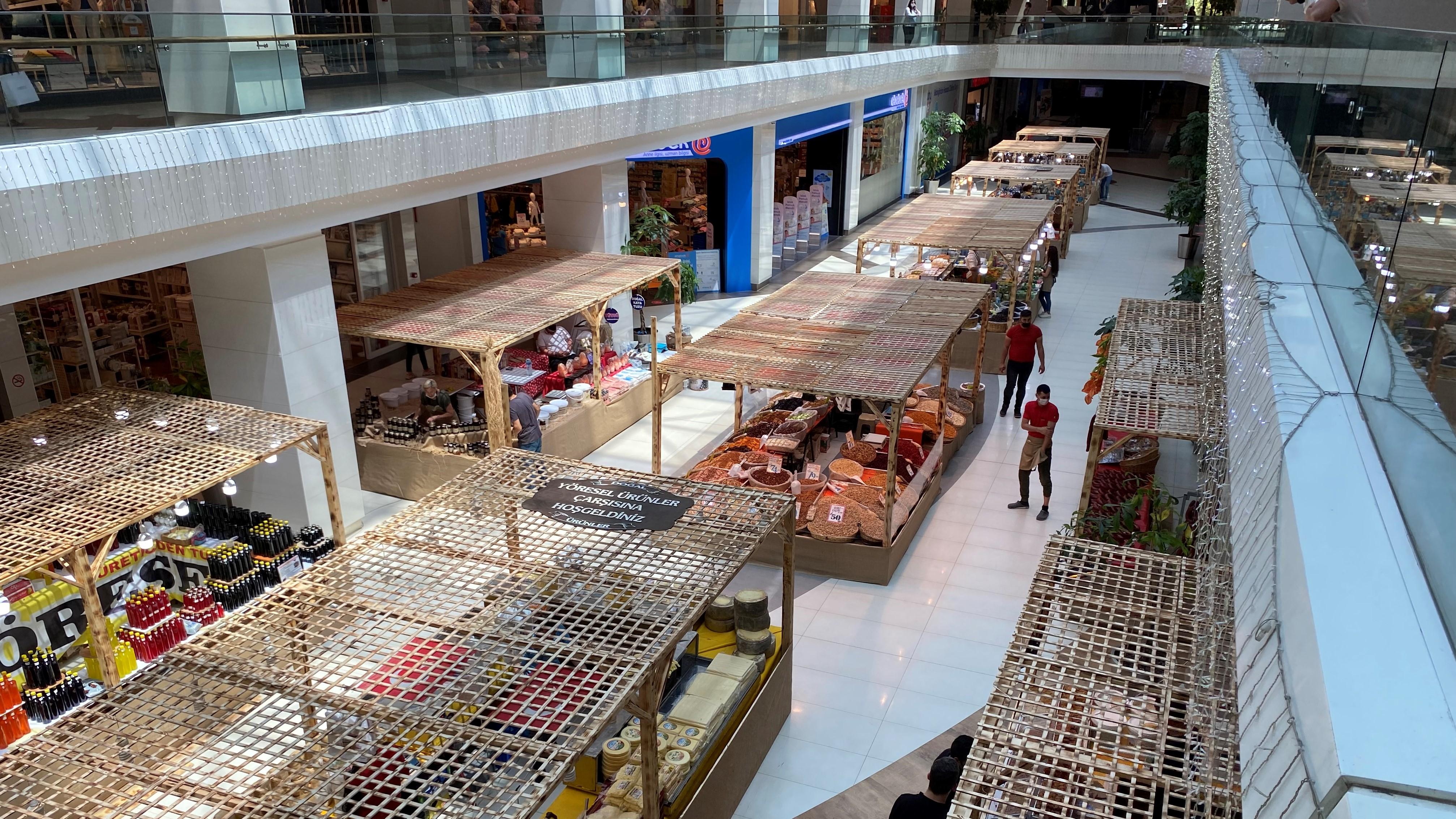 Türkiye'nin ürünleri Agora'da