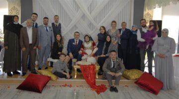 İlknur Taşkın biricik kızını evlendirdi