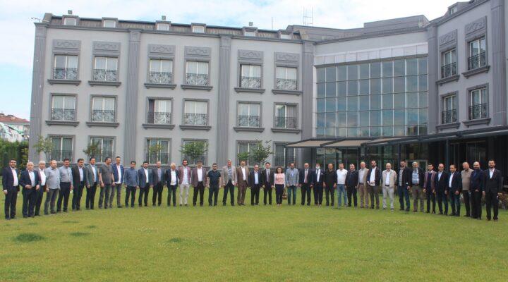 MÜSİAD; Erenler ilçesinde faaliyet gösteren üyelerini bir araya getirdi