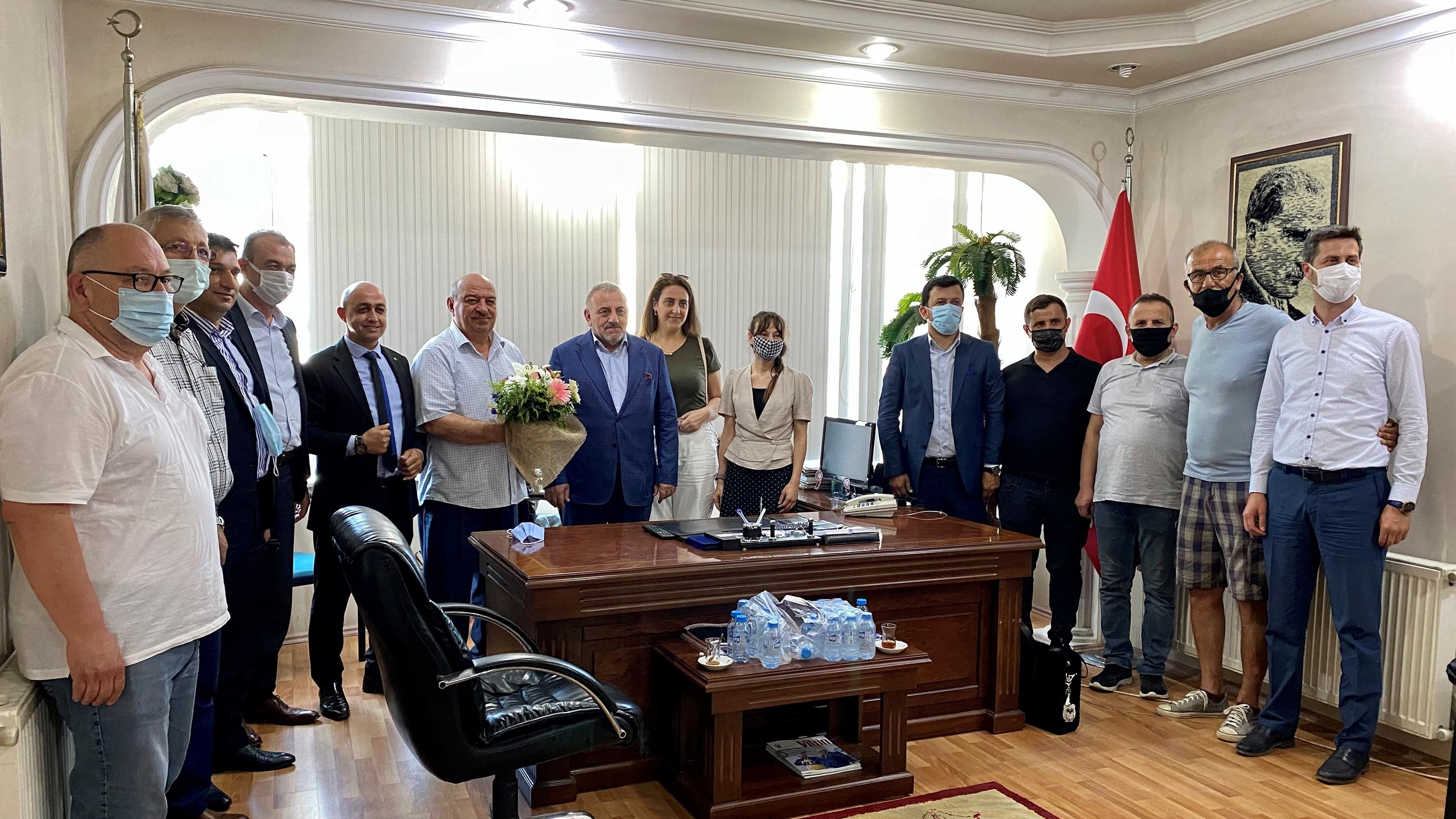 """""""DEVA Partisi ilçe ziyaretlerine devam ediyor"""""""