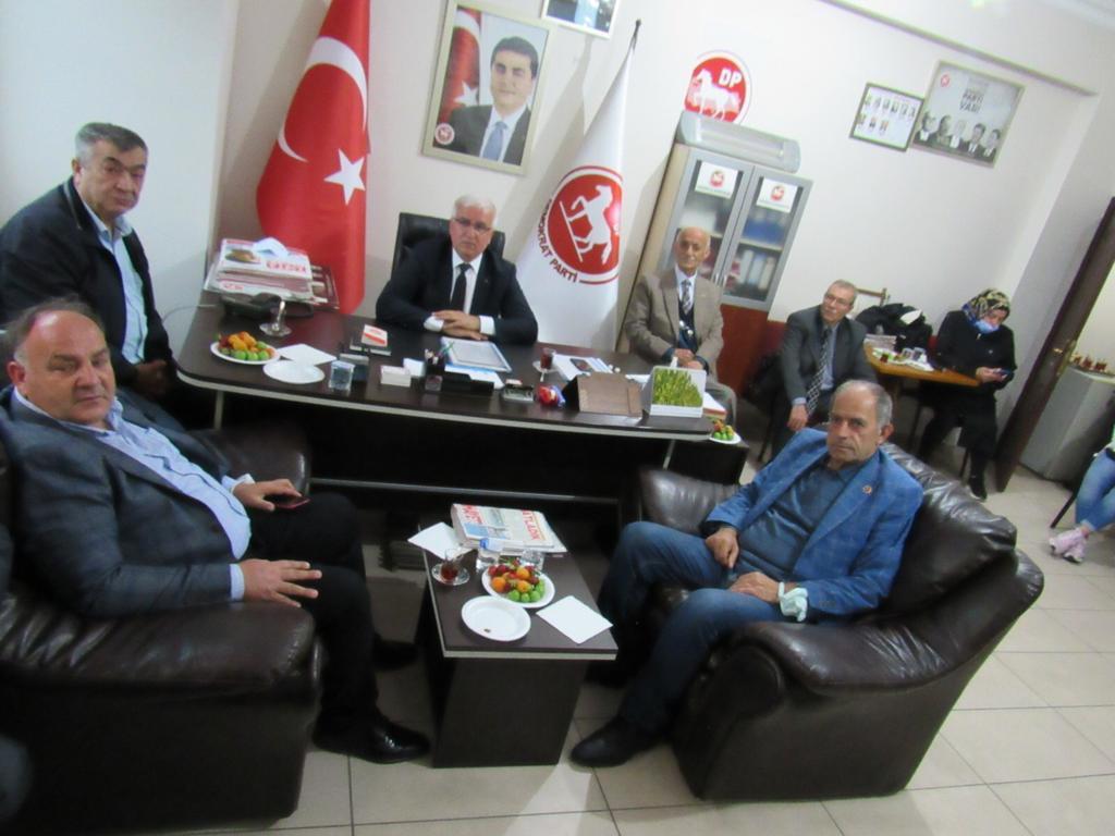 Muhtarlardan Başkan Ergül'e ziyaret