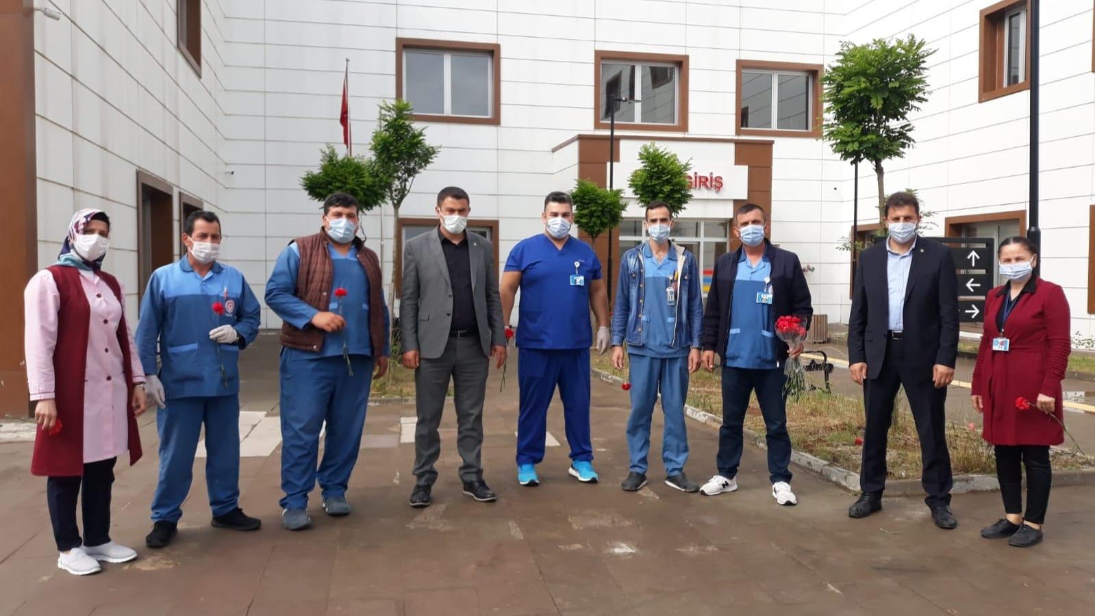 Bu yıl 6.Kutlanan 1 Haziran bakım elemanı ve temizlik personel günü pandemi gölgesinde kutlandı