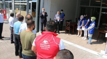 ASEM Mobilyacılar sitesinde dualar yapıldı.