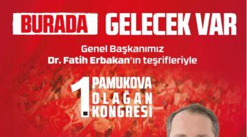 Fatih Erbakan Sakarya'ya geliyor