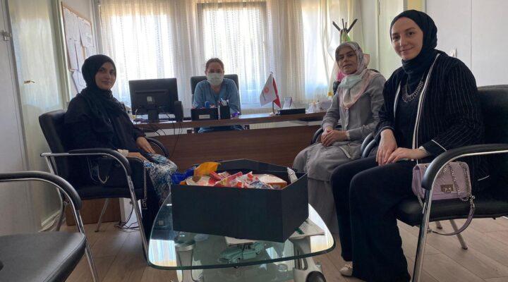 MÜSİAD Kadın'dan Bayram öncesi anlamlı ziyaret
