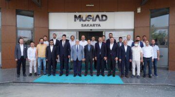MÜSİAD; AK Parti Genel Başkan Yardımcısını ağırladı