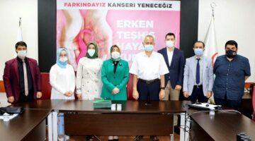 Yeşilay'dan Sağlık Müdürü Öğütlü'ye ziyaret