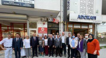 CHP üst Yönetimi STK ve Siyasi Partilerle Temasta Bulundu