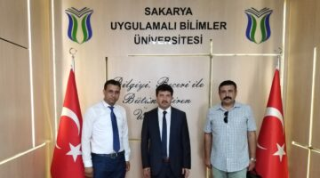 """Prof. SARIBIYIK: """"Birlikte yapılacak her  türlü çalışmada biz SUBÜ olarak varız…"""""""