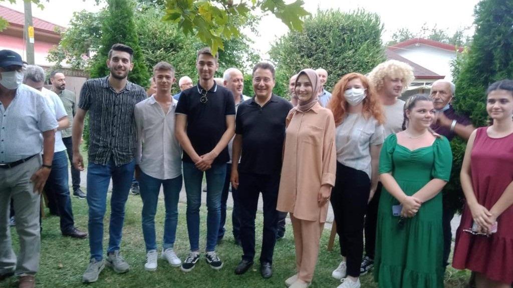 Ali Babacan'dan Akyazı ve Balballı ziyareti