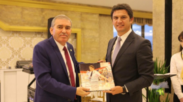 ASKF Başkanı Yaşar Zımba, başarılar diledi