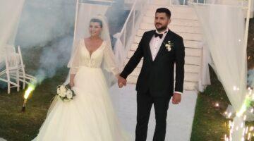 Görkem ile Numan; rüya gibi düğünle evlendi
