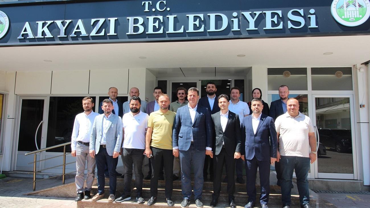 MÜSİAD Sakarya Akyazı'da ki üyeleriyle bir araya geldi