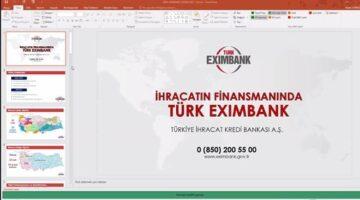 Türk Eximbank yetkilileri SATSO üyesi ihracatçıları bilgilendirdi