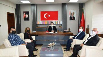 Başkan keleş'ten SASKİ ve Milli Eğitime ziyaret