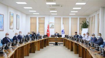 Vali Kaldırım COVİD-19 Önlemlerine İlişkin Toplantılara Başkanlık Etti