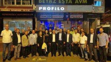 İYİ Parti Adapazarı Teşkilatı, Ferizli ilçe Başkanlığını ziyaret etti