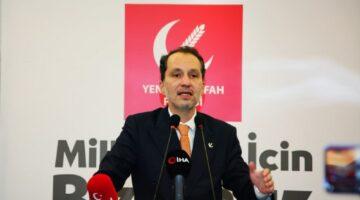 Fatih Erbakan: ''çocuklarımız küresel güçlerin kobayı değildir''
