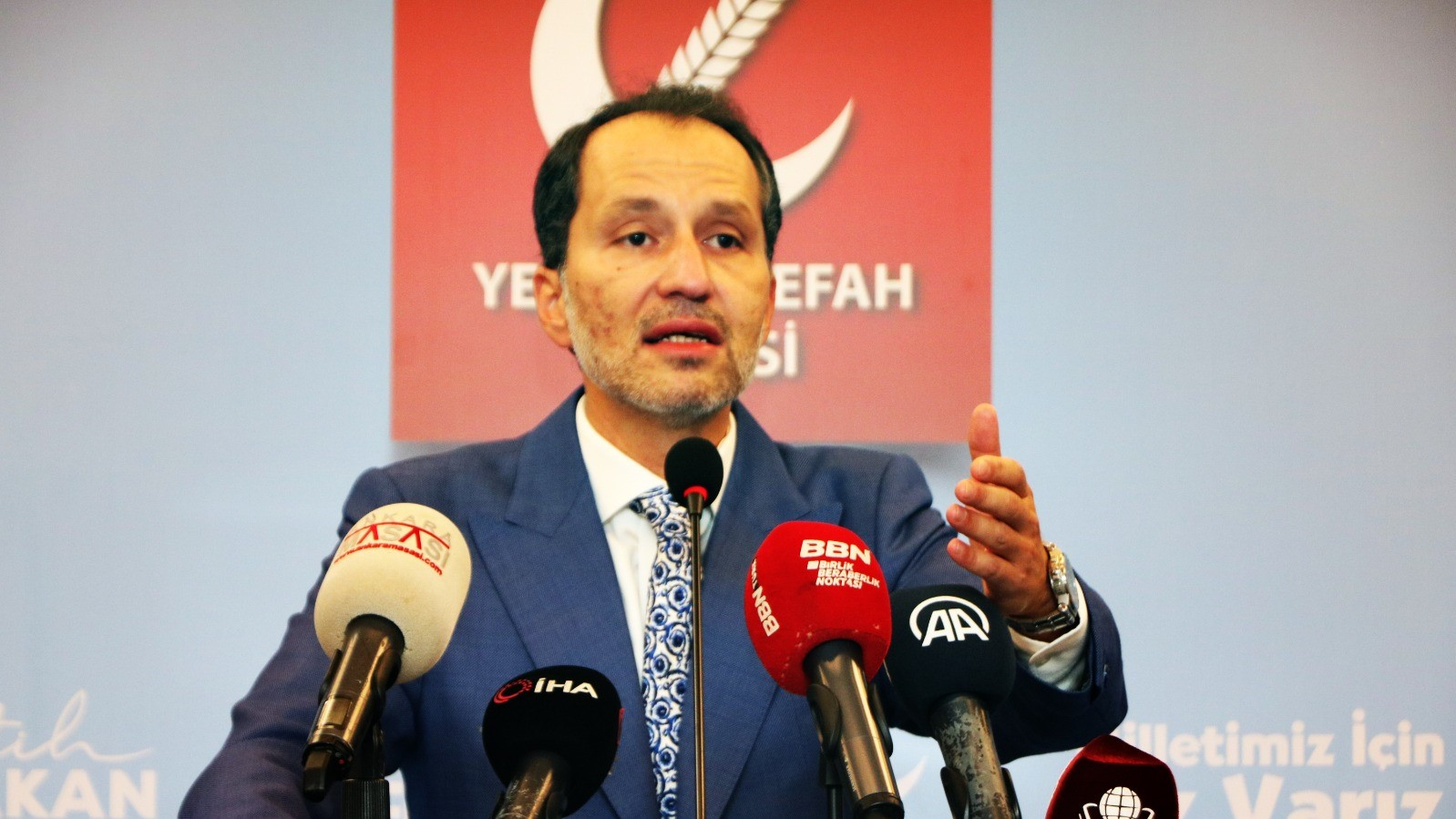 Fatih Erbakan: adaletin sağlanması için seçim barajı kaldırılmalıdır
