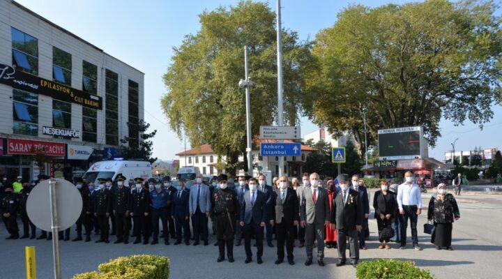 19 Eylül Gaziler Günü Hendek'te törenle kutlandı