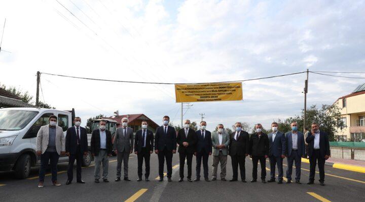 Pazarköy Caddesi hizmete açıldı