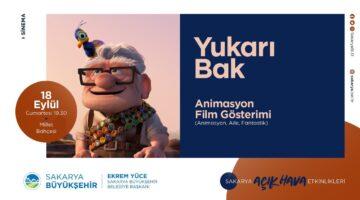 Yukarı Bak Ve Buz Devri 2 Animasyon filmi Millet Bahçesinde İzlenecek