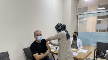 Arifiye'de Aşı Seferberliği tüm hızıyla sürüyor