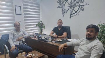 Mustafa Çaylak ziyaretlere devam ediyor